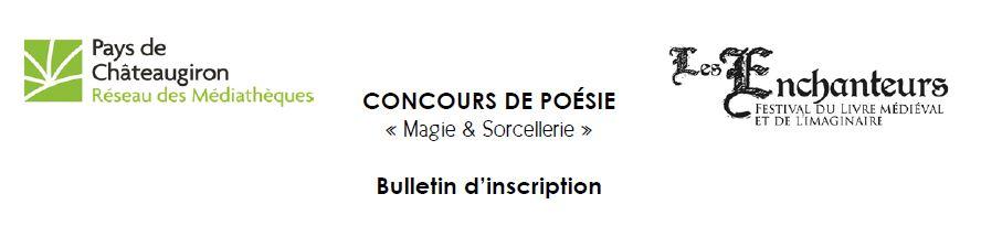 bulletin d'inscription concours de poésie